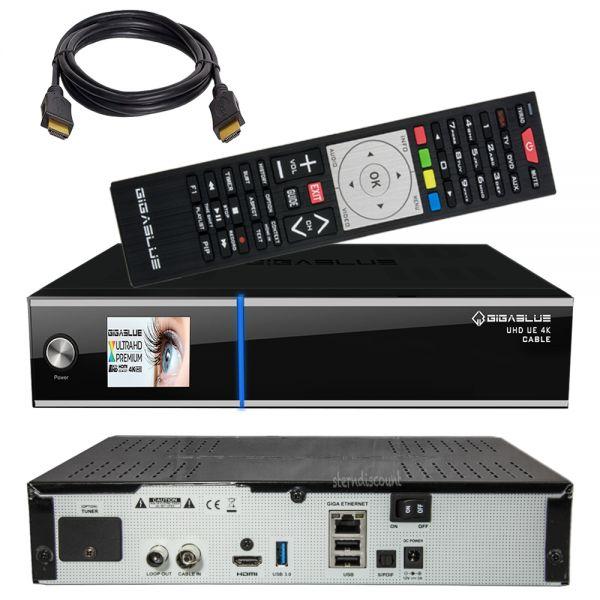 Gigablue UE 4K Kabel Receiver