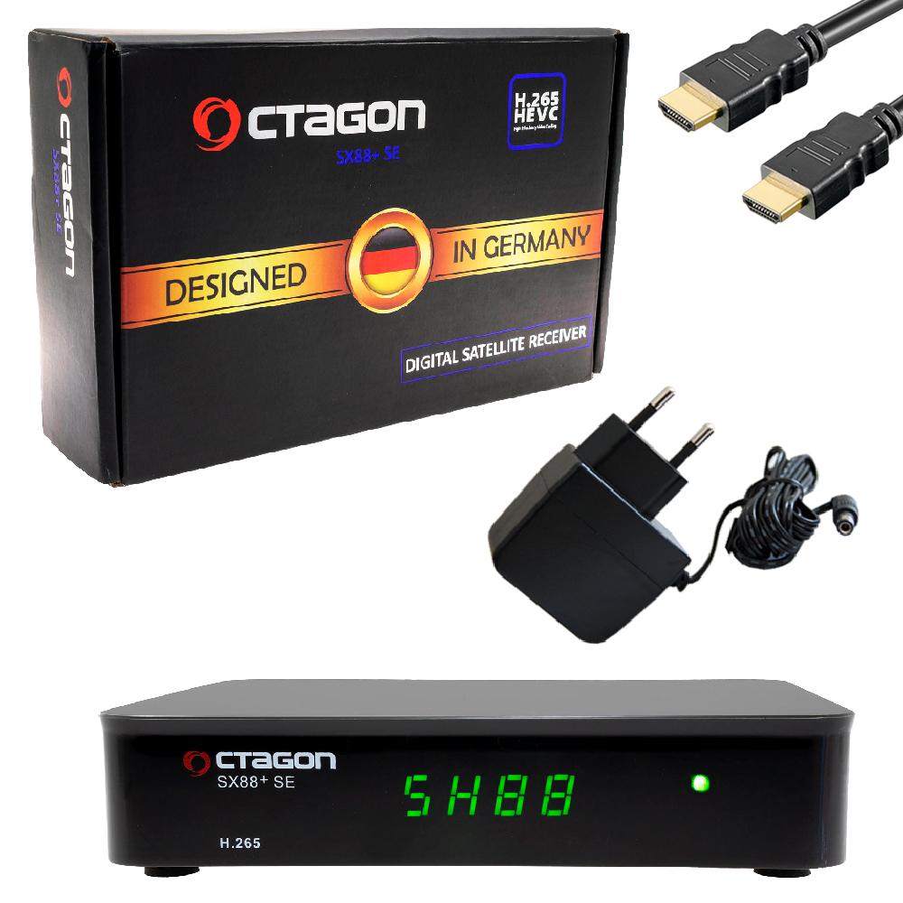 Octagon SX88+SE Stalker IPTV + SAT HD Receiver