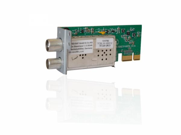 Gigablue DVB-C/T2 Tuner für X3| Ultra UE | QUAD PLus | SE