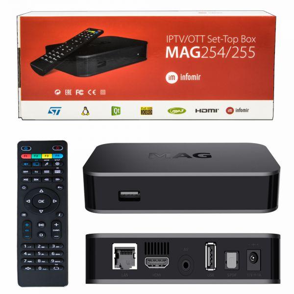 MAG 254-255 IPTV Box