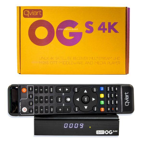 Qviart OS S 4K Satelliten UHD Receiver