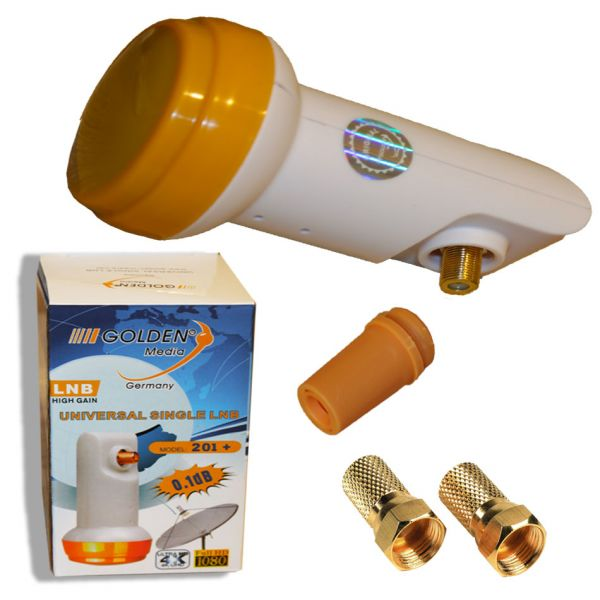 Golden Media High Gain Single LNb 0,1db