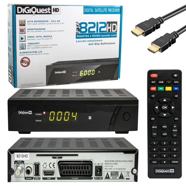 DigiQuest 8212 HD SAT-Receiver
