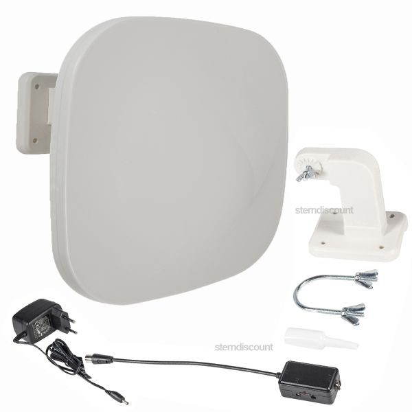 DVB-T2 Außenantenne mit hohe REichweite