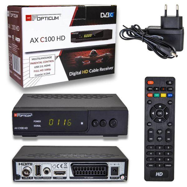 Opticum-AX-C100-HD-digital-Kabel-Receiver