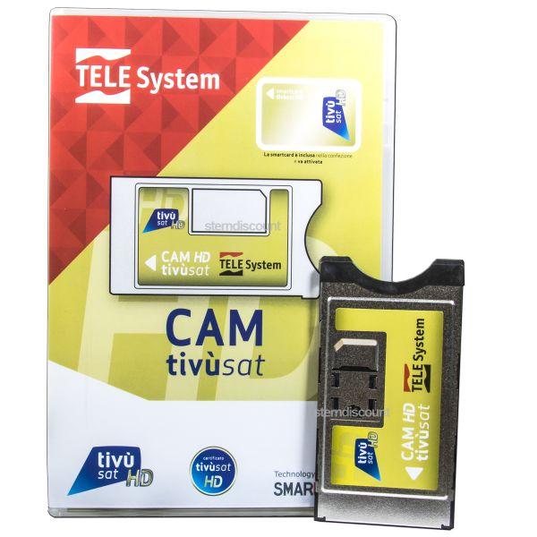 ci modul ohne karte Tivusat CI+ Modul ( Ohne Karte ) RAI Mediaset Telesystem HD 4K