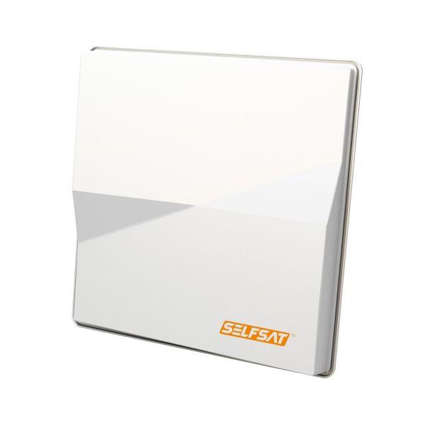 Selfsat H50-m4 QUAD Flache Sat-Antenne für Astra + Hotbird