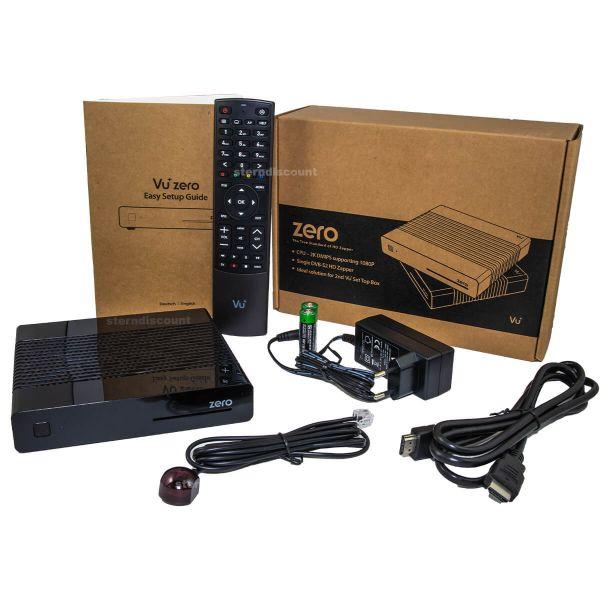 Vu+ ZERO HD rev.2 H.265 DVB-S2 Satellitenreceiver