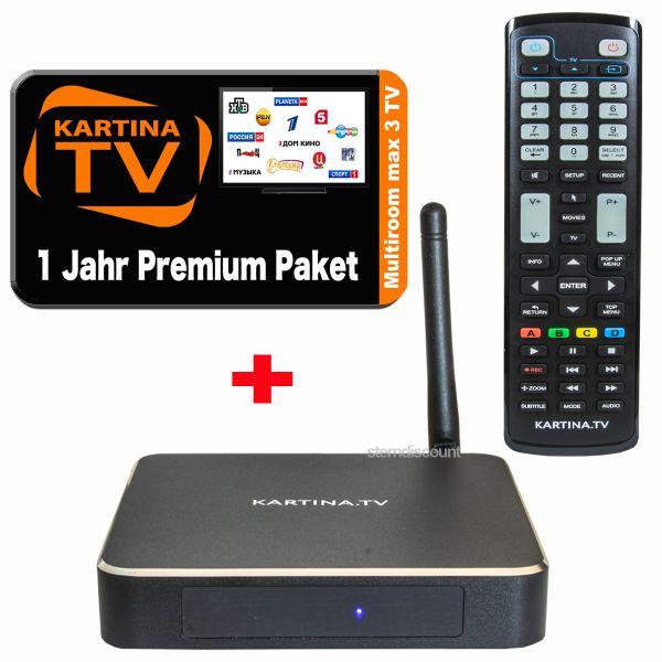 KArtina TV X Box und 1 Jahr Premium ABO