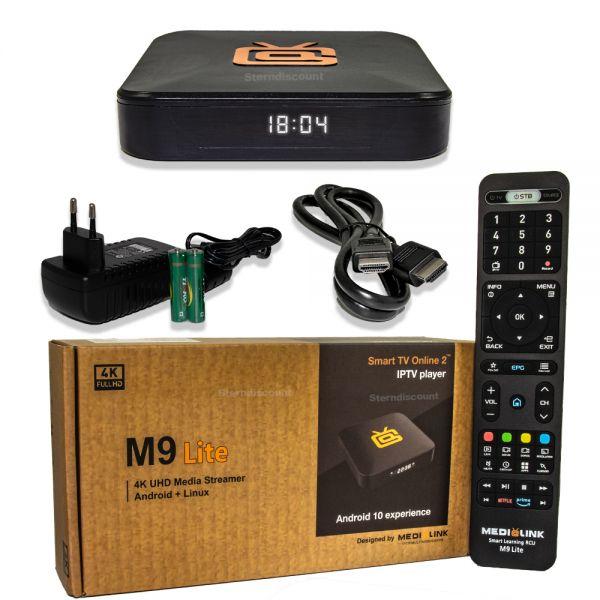 Medialink M9 Lite - 4K IP-TV Android 10.0 Box