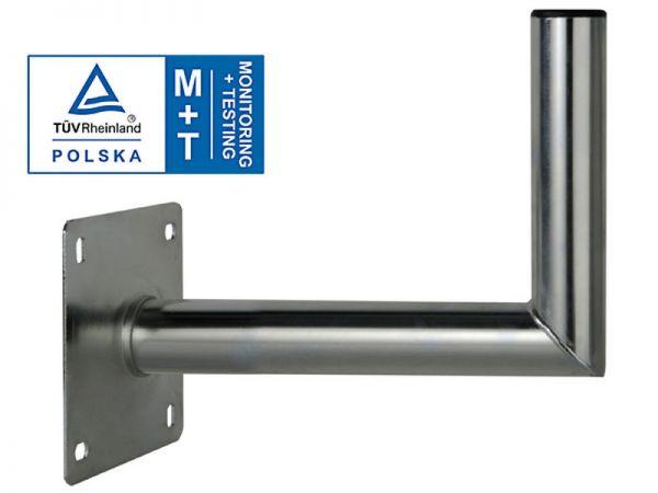 Wandhalter SAT 30cm Länge - Rohr Ø 50mm verzinkter Stahl