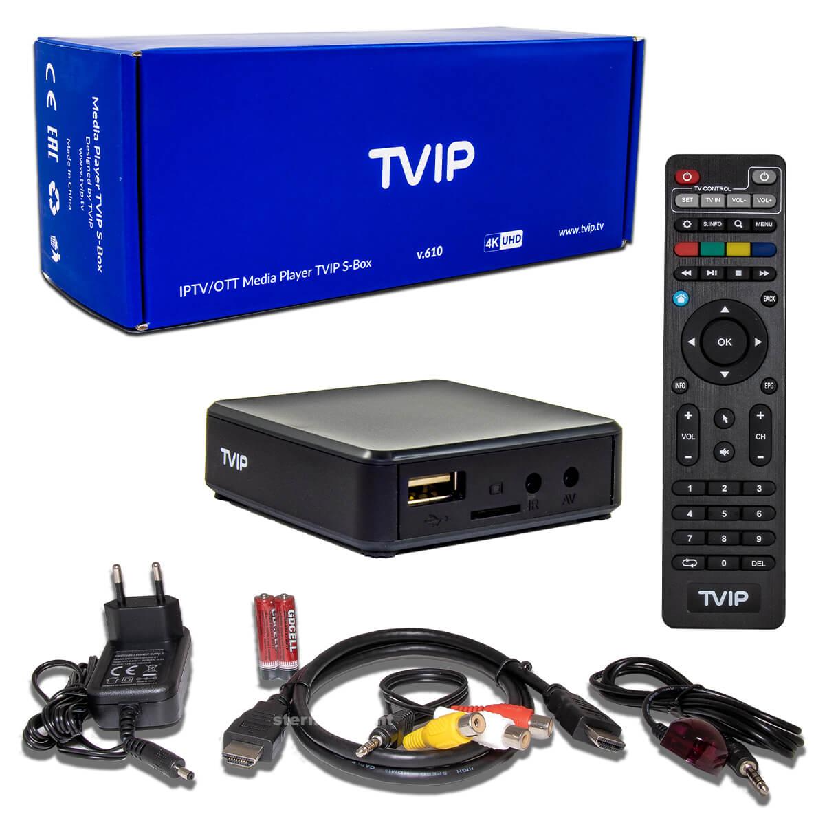 tvip-s-box-v-610-lieferumfang-paket