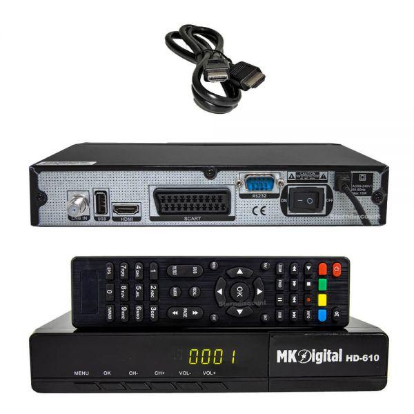 MK-Digital HD 610 DVB-S2 Satelliten Receiver