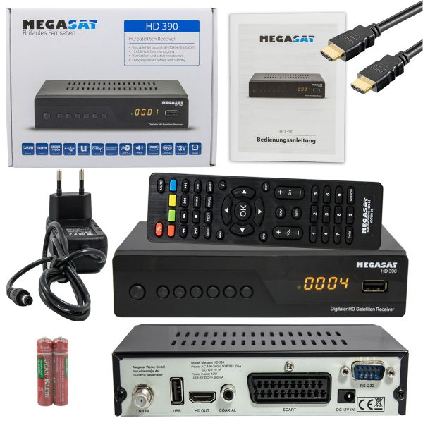 Megasat Hd 390 Satelliten Receiver