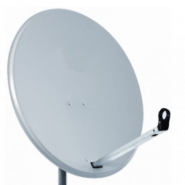 80cm Sat-antenne-stahl-hell