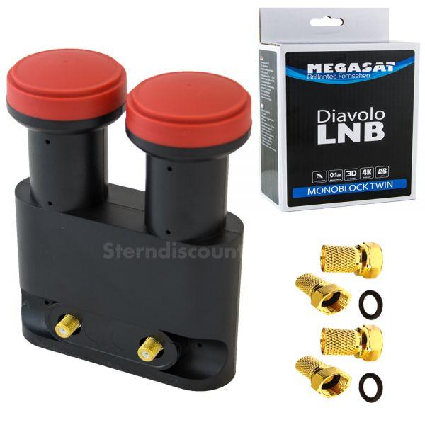 Megasat Monoblock LNB Twin
