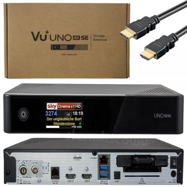 uno se 4k DVB-C Receiver