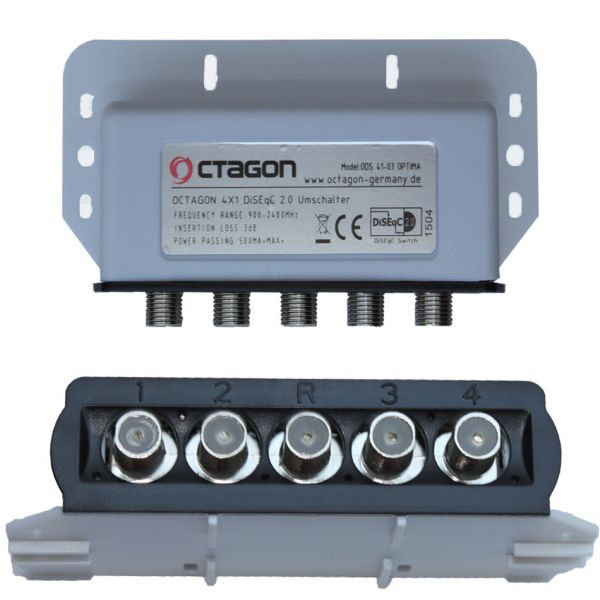Octagon-DiSEqC-Schalter-4-1-sat