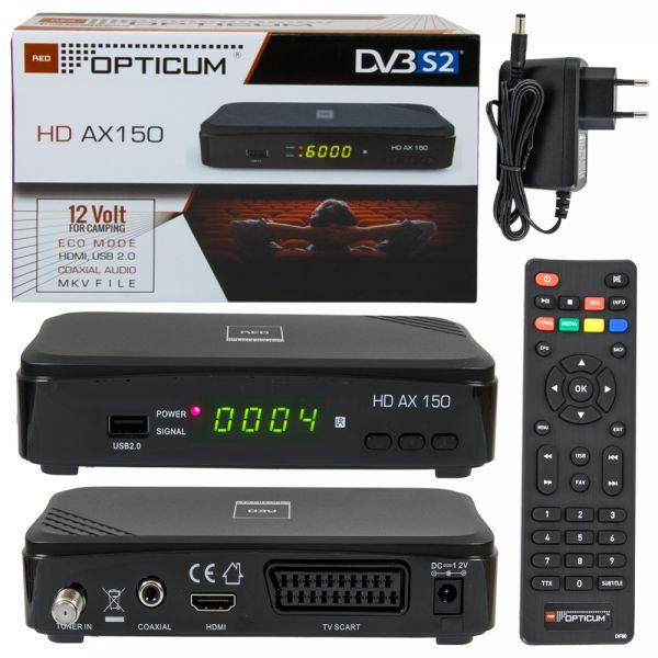 Opticum ax 150 sat-receiver