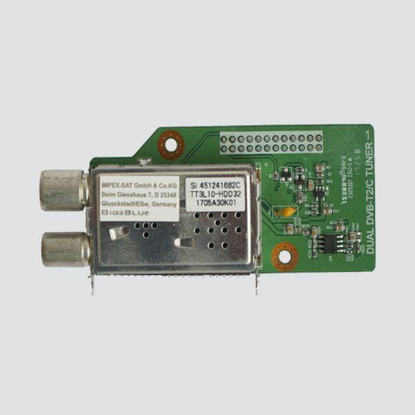 GigaBLue DVB-C | T2 Tuner für X2 | UE 4K | Quad 4K