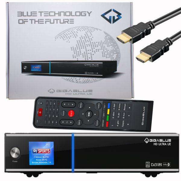 Gigablue Ultra UE Sat Receiver HDTV E2 Linux