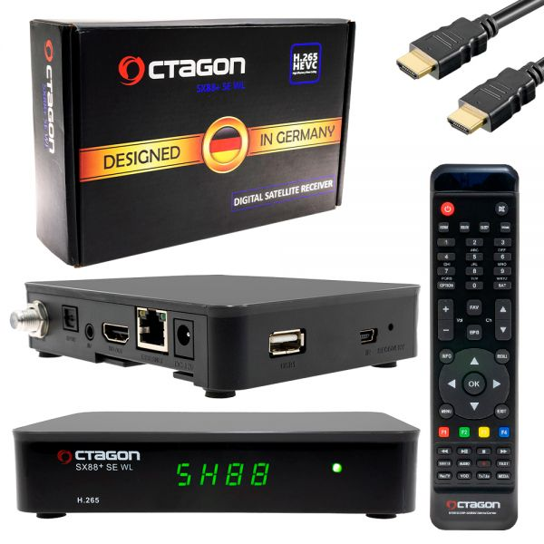 Ocatgon sx88+ se WL digital satellite Receiver