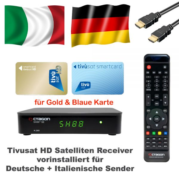 Tivusat HD Receiver ohne Karte