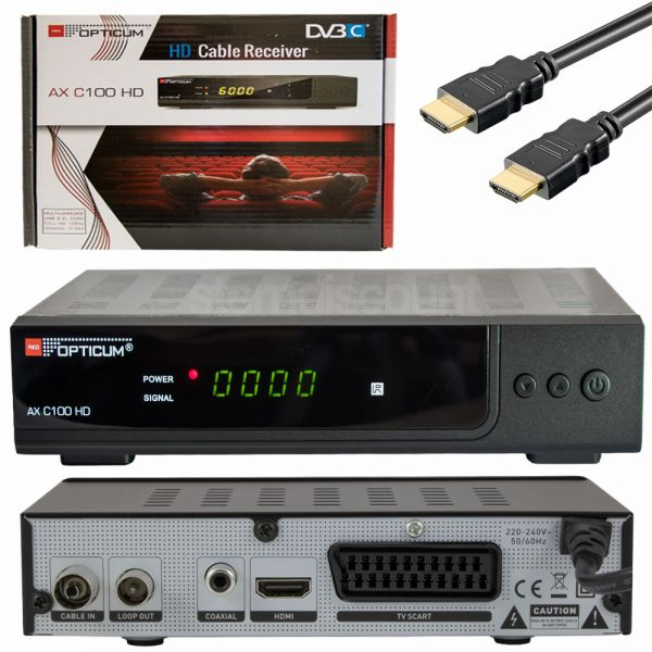 Opticum C100 DVB-C Kabel Receiver