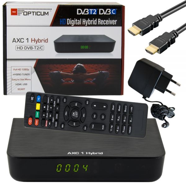 OPticum AXC 1 digitaler Kabel Anschluss TV Receiver