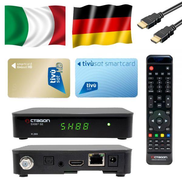 Tivùsat SX-88 HD-SAT-Receiver sx-88 ( Ohne Karte ) Full HDTV