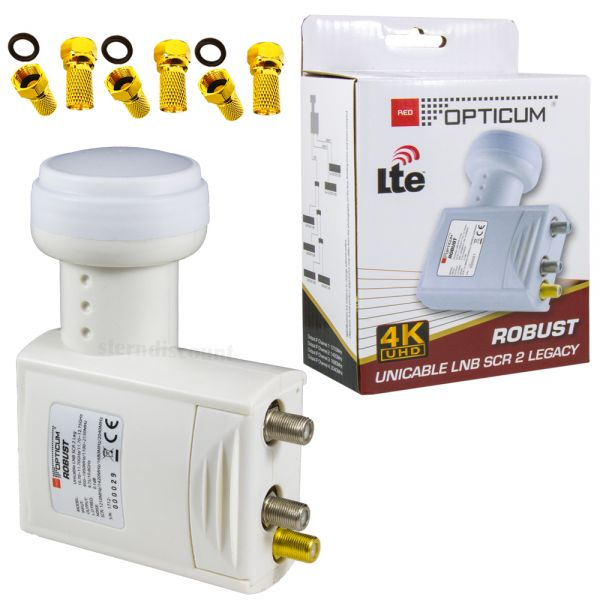 OPticum Unicable LNB Einkabellösung 2 lagacy
