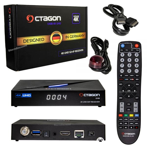 Octagon sx88 4k s2+IP uhd satelliten receiver