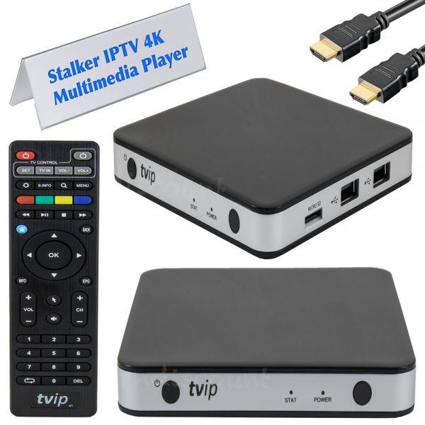 TVip v.605 S-BOX 4K UHD IPTV Stalker Portal