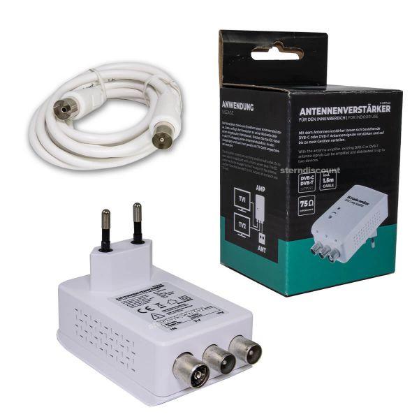 2 Geräte Verstärker für Kabelfernsehen
