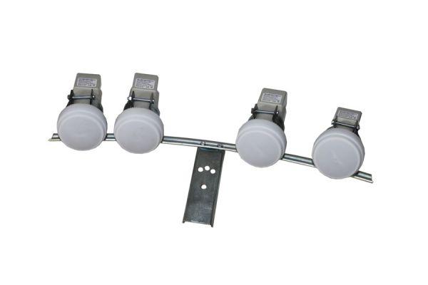 LNB Schiene 4 fach Halterung Multifeedhalter