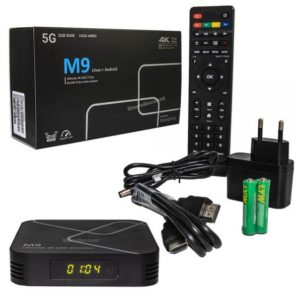 Medialink M9 Android 4K Media Streaming Box