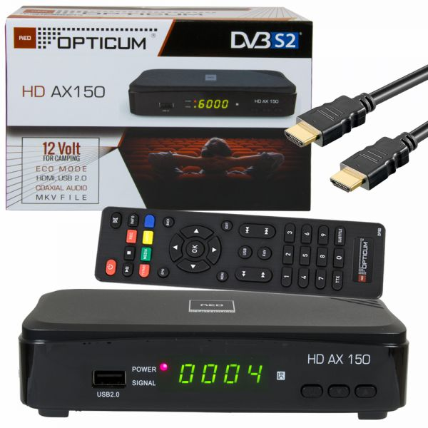 Opticum HD-ax150 sat-receiver hdtv PVR