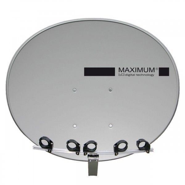 maximum t 85 sat spiegel antenne inkl multifeedschiene. Black Bedroom Furniture Sets. Home Design Ideas