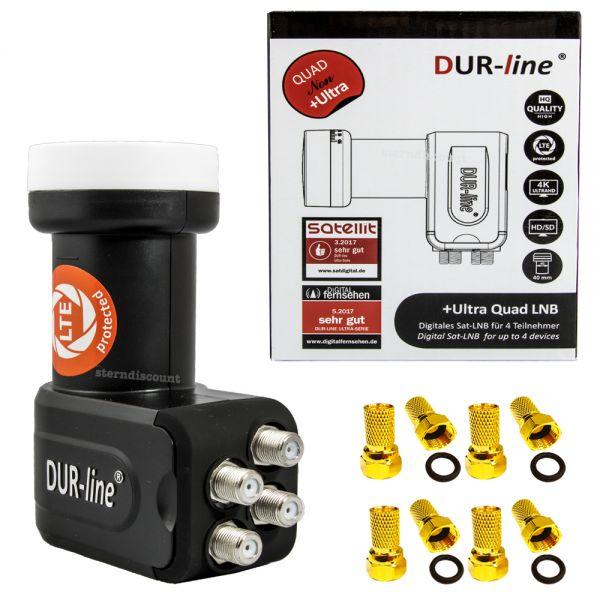 Dur-Line +Ultra Quad LNB
