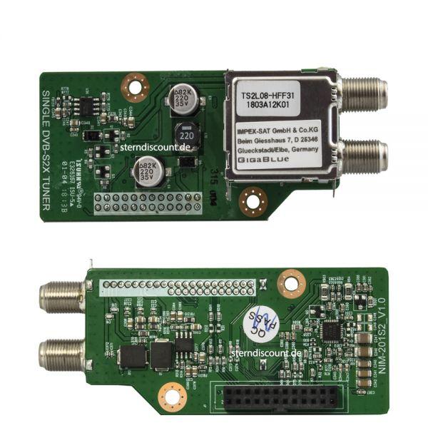Gigablue DVB-S2X TUNER SINGEL Multistream X2 / UE 4K / QUAD UHD