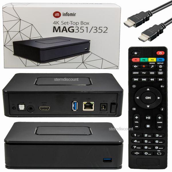 MAG 351 IPTV box
