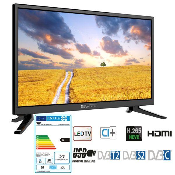 12 Volt Fernseher für Wohnmobil 20 Zoll TV