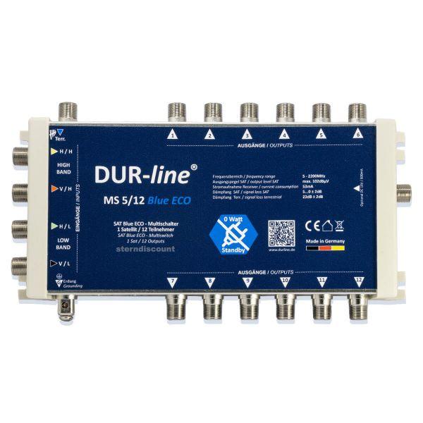 Dur Line Blue ECO 5-12 Multischalter ohne Strom