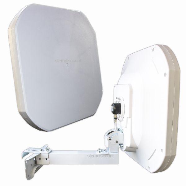 Flache Sat Antenne Flat43