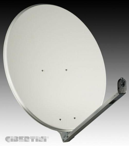 Gibertini 100cm Sat Antenne Grau/weiss
