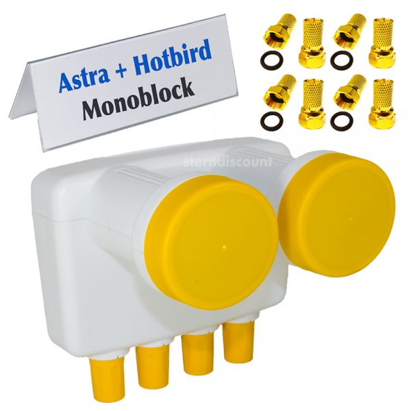 Golden Media Quad Monoblock LNB
