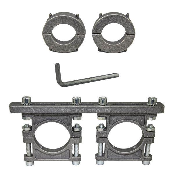 LNB-Haterung 2-Fach Robuste Aluminiumdruckguss