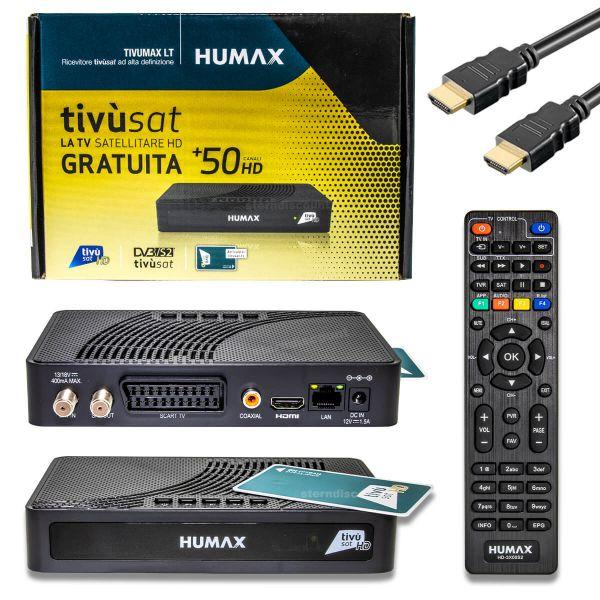 Humax Tivumax LT Ricevitore DVB-S2 HD Tivusat