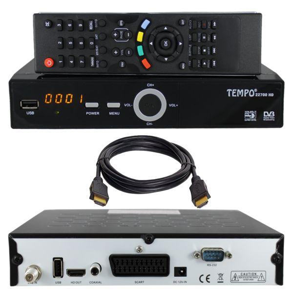 HD SAT Receiver Tempo 22700