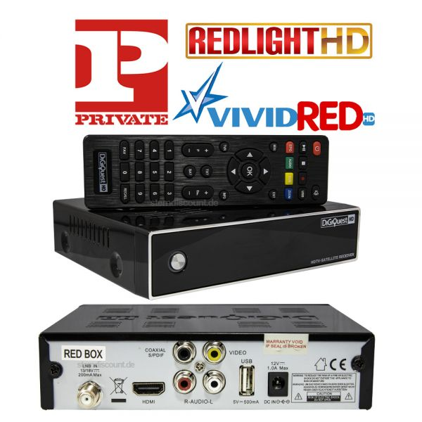 Digiquest Red Box SAT Hd Receiver